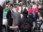 小倉で映画「劇場版・相棒Ⅳ」ロケ 目抜き通り封鎖し、市民3000人エキストラ参加