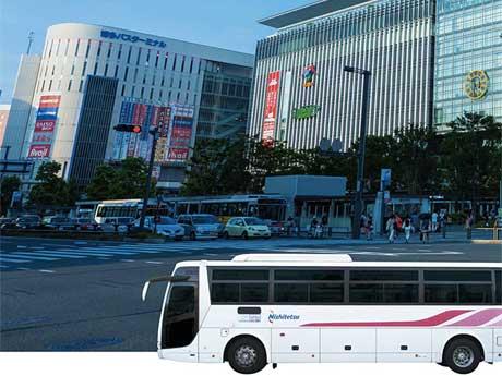 「小倉南区在住のお客さまほど時短メリットがある」と西鉄高速バス担当者