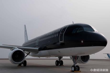 運行予定の同社エアバスA320