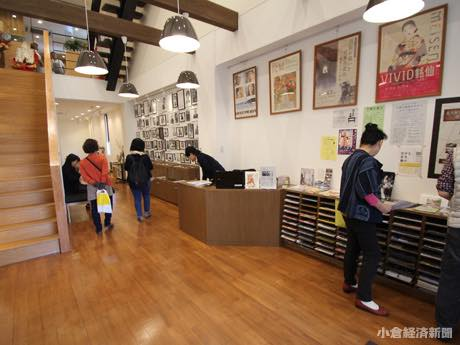 小倉・京町銀天街「北九州文学サロン」 開業から2カ月、利用者数順調