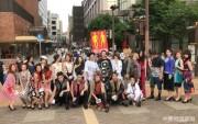 小倉の商店街をモデル24人が練り歩き ファッションイベントを「ゲリラPR」