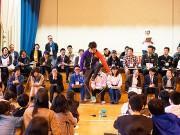 北九州の小学校で児童と大人の「夢授業」 6年生76人と職業人が交流