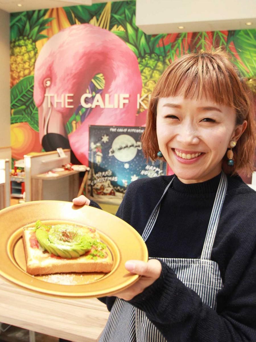 小倉のカリフォルニアスタイルカフェ1周年 「客層拡大」狙いメニュー一新