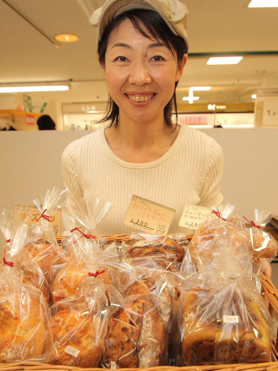 「ブリック・バイ・ブリック」(下到津4)はイベント限定パン「シルクハース」(200円)などを提供している