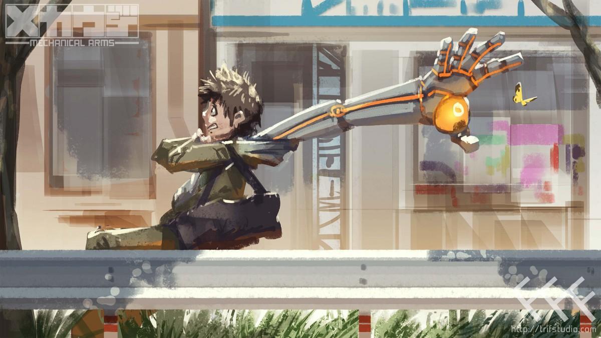 制作されるアニメのイメージボード