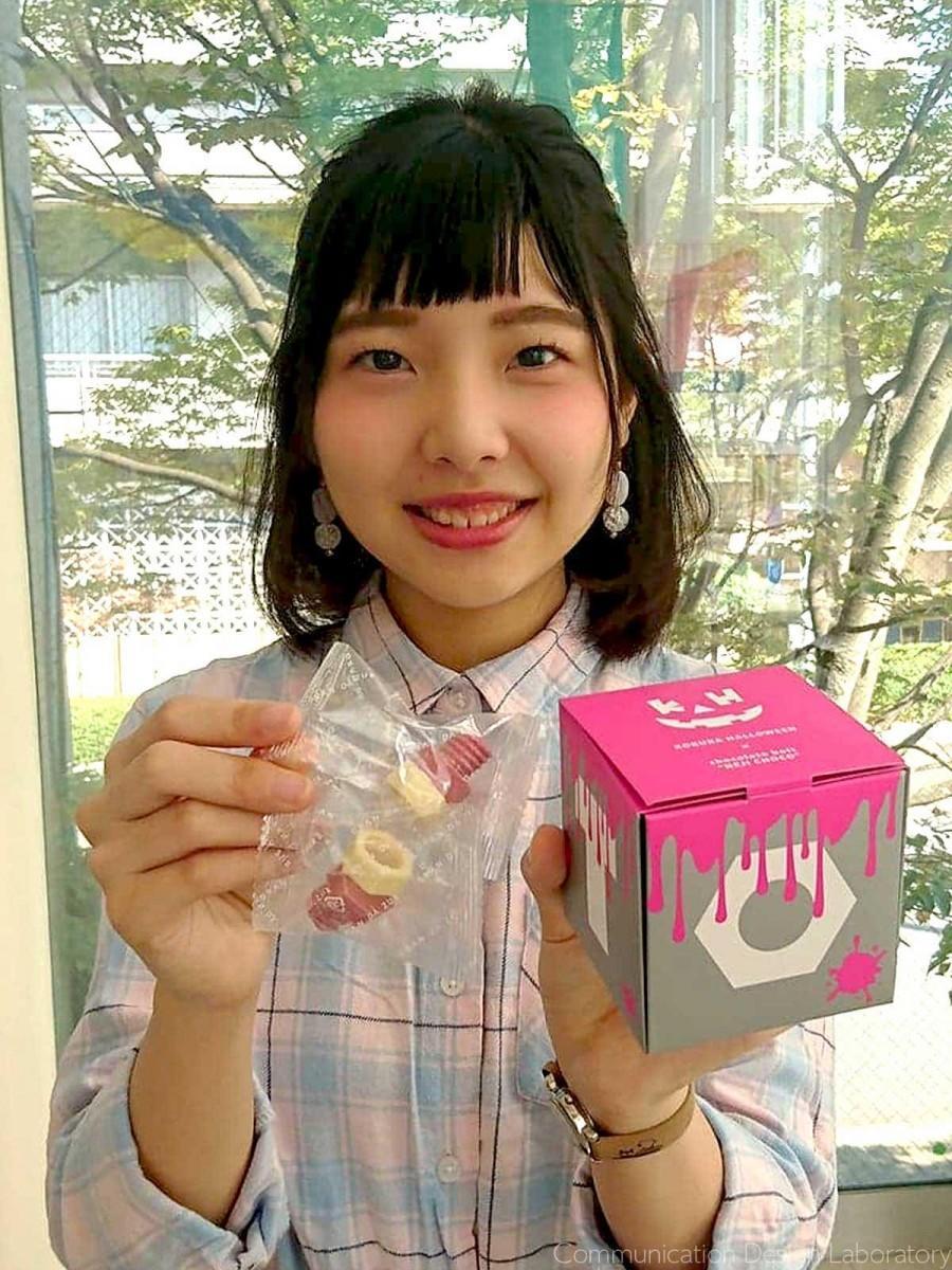 パッケージデザインをした野原美咲さん