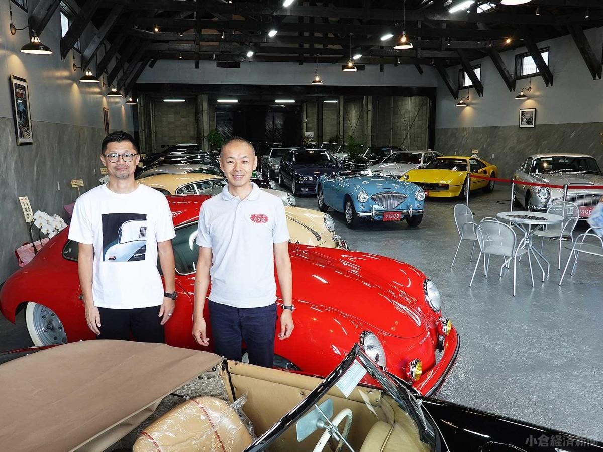 ディレクター・佐藤さん(右)とセールスマネジャーの入澤謙一さん