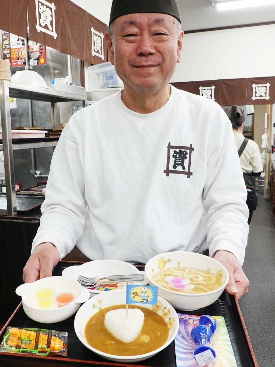 「資さんうどん」魚町店の杉山店長