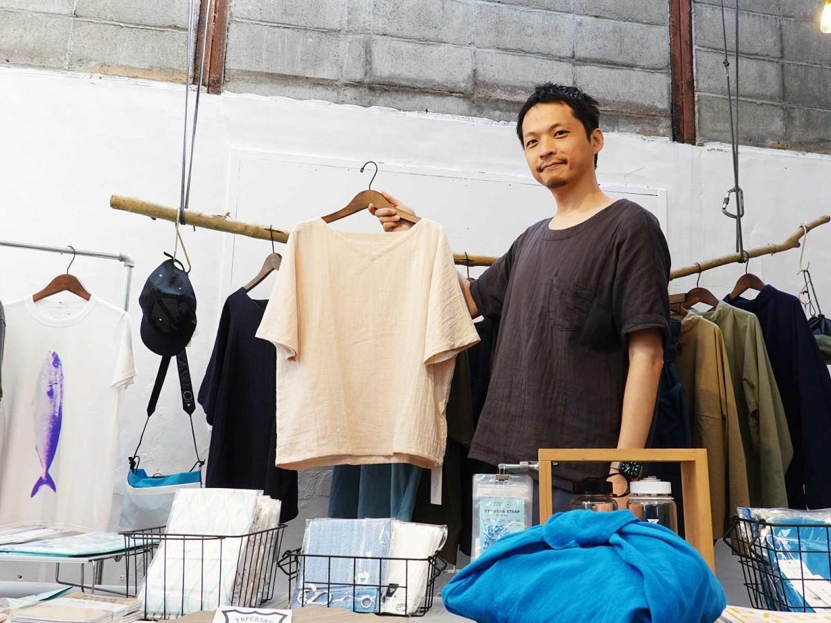 「ダブルガーゼのTシャツがおすすめ」と渡邉さん