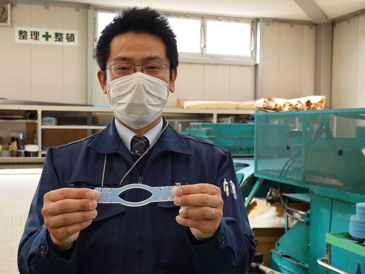 社長の小川拓郎さん