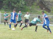 江東でブラジル高校生がサッカー親善試合 現地大会優勝の強豪