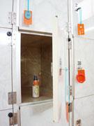 江東の銭湯で「宝箱ロッカー」 脱衣所ロッカーで品物進呈