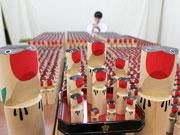 亀戸天神社で「うそ鳥」製作大詰め 「うそ替え神事」今週末