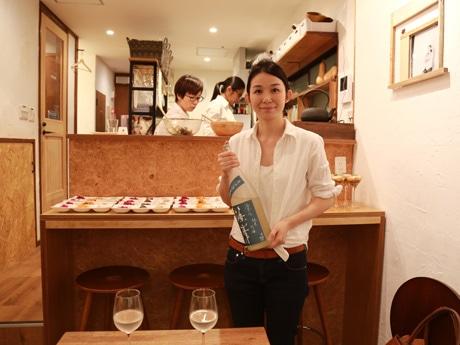 江東・扇橋に日本酒バル 「日本人と外国人がつながれる場に」