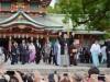 鶴竜関、富岡八幡宮で刻名式-第71代横綱、「力士碑」に