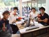 劇団EXILEが区観光キャラクターを使ってラジオ番組-即興モノローグに挑戦