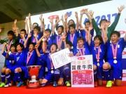 江南南サッカー少年団、小学生8人制サッカー全国大会で初出場初優勝の快挙
