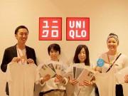 制服着用客にインナー1着進呈 ユニクロ熊谷で県内唯一実施