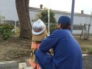 深谷・明戸地区で「ふれあい祭り」 子ども対象の放水体験も