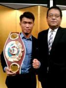 熊谷出身のプロボクサー・木村翔さん、後援会が支援者募集
