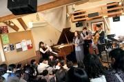 熊谷で子どものためのジャズライブ 本物の演奏に触れ、「ジャズ知るきっかけに」