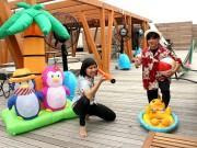熊谷のおふろカフェで屋上イベント 水遊びやバーベキュー体験、ビアテラスも