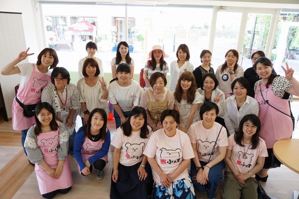 2年前、県北2人のママから始まった小さなイベントにこれだけ仲間が増えた