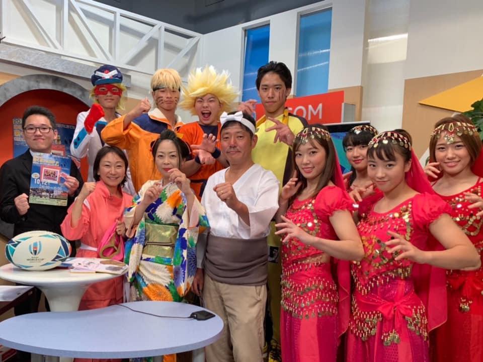 主催の「ままくま会」運営委員と出演者「Team DATE」のメンバー