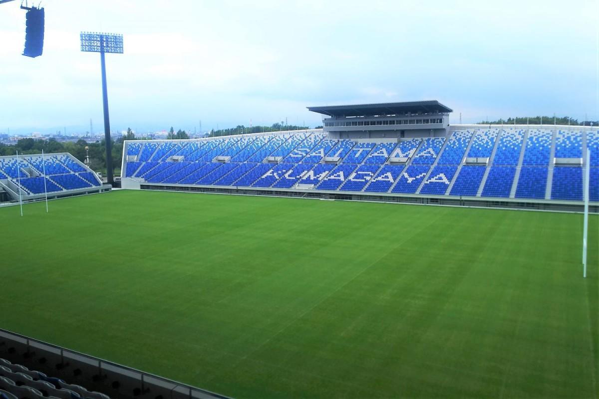 1月12日に「パナソニック ワイルドナイツ」対「クボタスピアーズ」の試合が行われる。熊谷ラグビー場