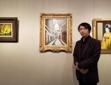 熊谷に「ユトリロ」の絵 期間限定で公開、展示通じ文化振興を