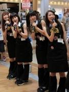 岡山ご当地アイドル「S-Qty」がタワレコで1日店長-歌も披露