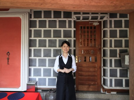 「茶房 いかしの舎」責任者の舟越正恵さん