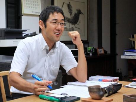 「だっぴ倉敷」を主催する「かいわれの会」代表の柏原拓史さん