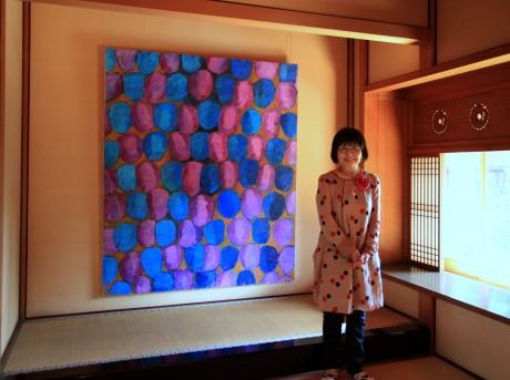 倉敷「有隣荘」特別公開で辰野登恵子さん個展-油彩画新作など展示 ...