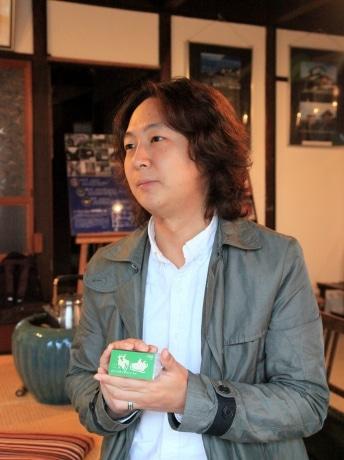 「倉敷からできることを続けていきたい」と話す事務局の坂ノ上博史さん