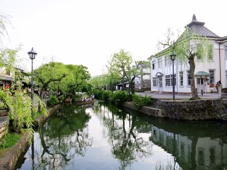 「倉敷屏風祭」が行われる美観地区