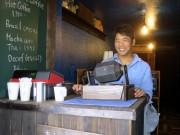 倉敷駅前に自家焙煎「天野珈琲」 脱サラ店主、夢かなえる
