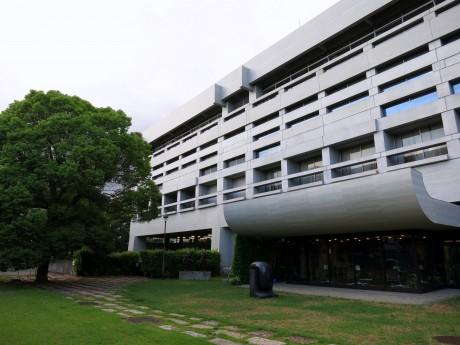 「建築家のしごと」会場の倉敷市立美術館