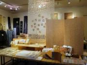 倉敷・アイビースクエアで「和紙」展 和紙糸を使った婦人服や和紙雑貨など1000点