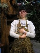 倉敷・美観地区に「ヒョウ猫の森」 ベンガル猫10匹以上と触れ合い