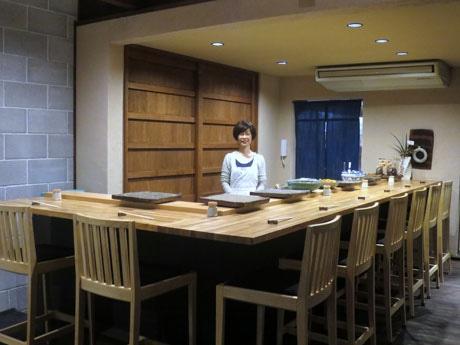 モーニング営業を担当する須田あゆみさん