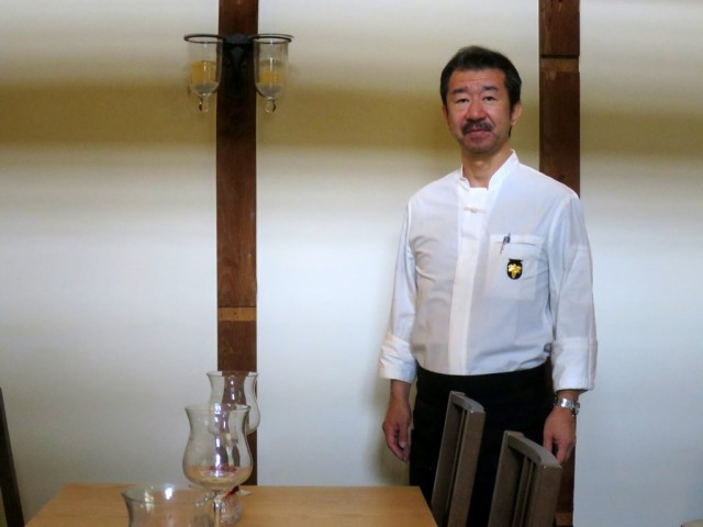 新シェフ・中嶋正司さん