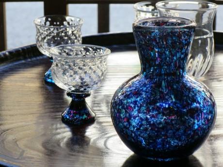白神典大さんのガラス作品