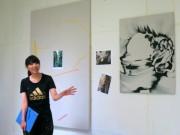 画家・水野里奈さん、倉敷で滞在制作 大原美術館で今秋お披露目