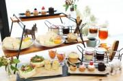 倉敷のカフェ19店舗で「アフタヌーンティー」 県産白桃やブドウ使った限定メニュー