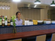 倉敷デパートにバル「スモールヴィレ」 無農薬野菜、瀬戸内の魚など使う