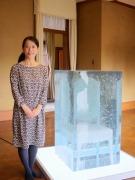 倉敷「有隣荘」で宮永愛子さん特別展 会期中に変化し続ける作品も