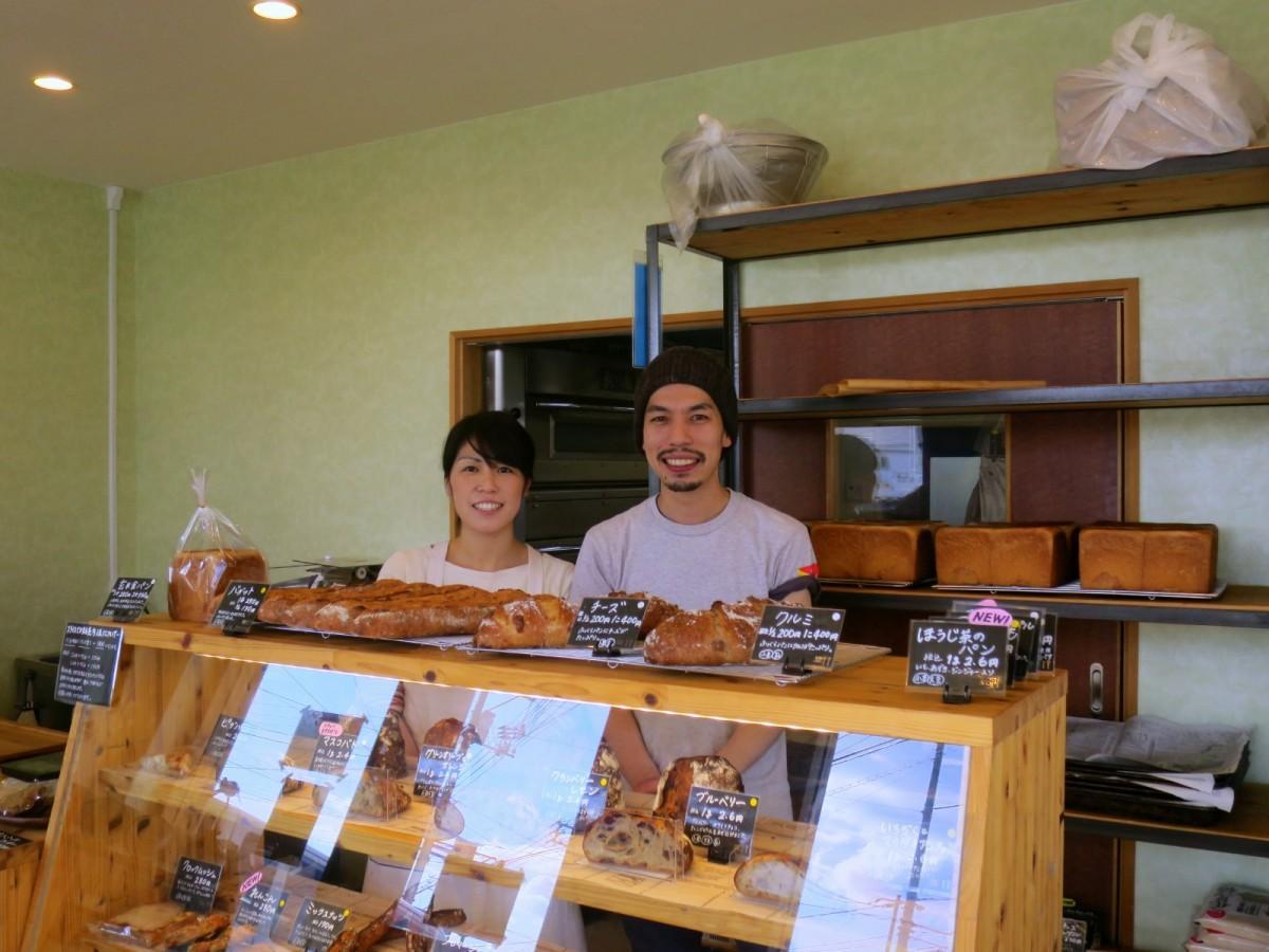 「Prime」店主の羽田勝彦さんと妻の喜久美さん