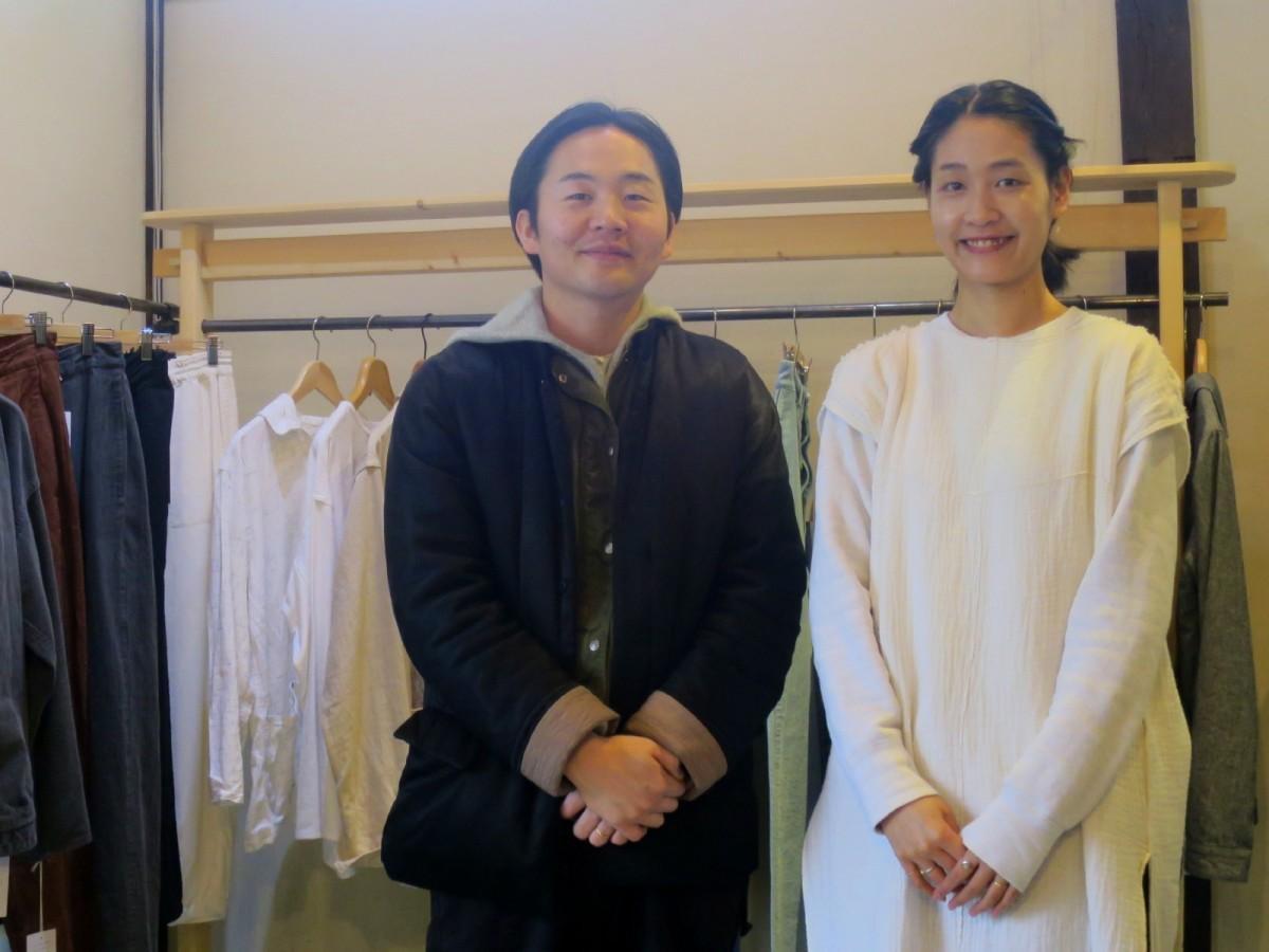 「COTTLE」の渡辺稔晃さん・由香里さん夫妻
