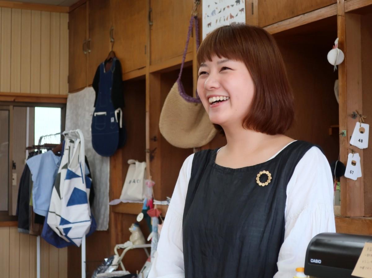 「ZAKKA MOKO」店主の平尾典子さん